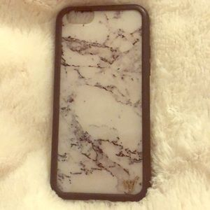Wildflower Marble iPhone case